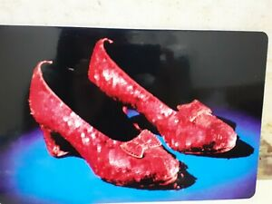 WIZARD OF OZ RUBY SLIPPERS WALL PLAQUE/PLACEMAT