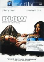 BLOW WS-JOHNNY DEPP- DVD-*DISC ONLY* WITH TRACKING