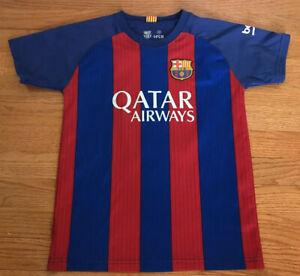 Barcelona Home Football Shirt Jersey 2014-2015 RAKITIC 4 SIZE 10 Youth MEdium M