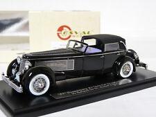 Esval EMUS43004B 1/43 1937 Duesenberg SJ Town Car Rollson Resin Model Car