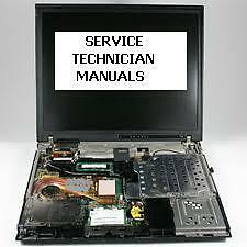 TOSHIBA PORTEGE P2000 SERVICE TECHNICIANS' MANUAL WITH DETAILED PICTURES