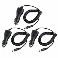 3x Car Charger Cable for Retevis RT-5R BAOFENG UV5RA UV5RB UV5RE/TYT TH-F8 Radio