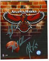 Atlanta Hawks Autographed 8x10 NBA Photo