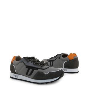 Trussardi  Herren Sneaker Sportschuh Schnürschuh Grau / Gr.45  TOP Style!!