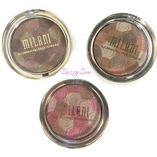 Milani Illuminating Face Powder Ultra Smooth Highlighter Bronzer Blush~01,02,03~