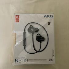 New AKG N200 Wireless Bluetooth Earbuds Black US Version