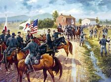 Dale Gallon print, Time to Fight, Major General John Reynolds at Gettysburg