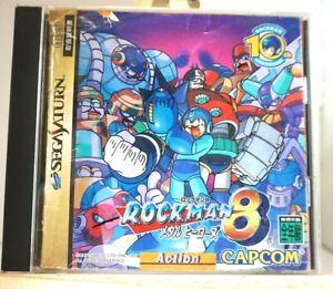 MEGA MAN8 Rockman8 Sega Saturn from japan#003
