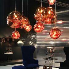 Melt Creative Hanging Lamp Novelty Glass Lava Irregular Pendant Lights Bedroom