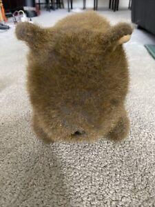 Incredible Life Like Australian Wombat Soft Toy