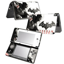BATMAN ARKHAM CITY Vinyl Skin Decal Stickers for Nintendo 3DS FULL SET