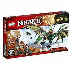 LEGO The Green NRG Dragon new sealed Ninjago set 70593, global shipping