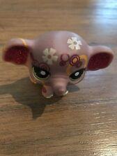 Littlest Pet Shop LPS Shimmer N Shine Rare Retired Elephant - #2154 Glitter