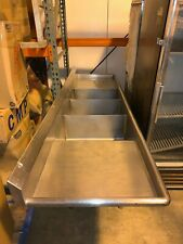 3 Compartment Sink With Double Drainboard