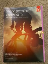 Adobe Premiere Elements 15 Software DVD Mac/Windows Video Editing BRAND NEW