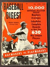 VINTAGE BASEBALL DIGEST ERNIE BANKS APRIL 1959 VOL 18 NO 3