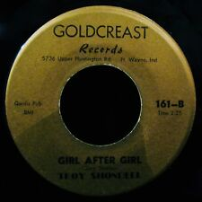TROY SHONDELL-Girl After Girl-Mega Rare Mispressed Label 45-GOLDCREAST #161