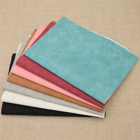 Sheet A4 Faux Suede Synthetic Leather Fabric Leathercraft Supplies Hand Crafts