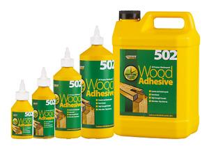 151 / Everbuild 502 PVA Weatherproof/Waterproof Wood Adhesive/Glues Build Hobby