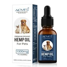 Organic Pet Hemp Oil for Pain Relief Stress Joint Health Hemp Oil for Dogs US