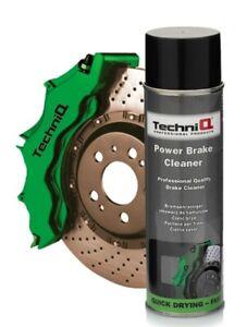 TechniQ Power Brake Cleaner Brake Caliper 500ml Aerosol Spray Large Can