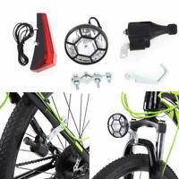 Bicycle Motorized Bike Friction Generator Dynamo Headlight Cycling Rear Light