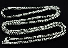 22.80 Grams 14K Solid White Gold Franco Necklace Chain 24 Inch Brand new