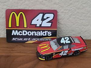 2018 #42 Kyle Larson McDonald's 1/64 NASCAR Authentics Loose Wave 11