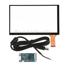 7 inch capacitive Touch Screen Digitizer Panel Glass Sensor Kit + Driver Board