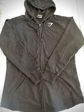 NEW Gymshark Mens Zip Hoodie Black XL *BNWOT* RRP £45