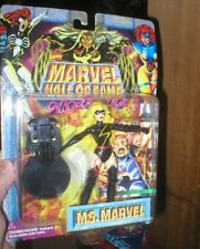 MS MARVEL, BLACK OUTFIT, MARVEL HALL OF FAME SHE FORCE SERIES, UNOPENED, TOY BIZ