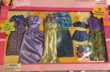 Barbie 6 Outfit Fashion Gift Pack -New in Box (2001) 68073