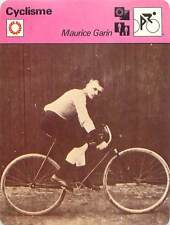 "FICHE CARD: Maurice Garin ""Le petit ramon""  Italy France Cycling CYCLISME 1970s"