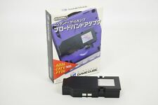 Nintendo Game Cube BROADBAND ADAPTOR Boxed DOL-015 JAPAN Game Ref/3108