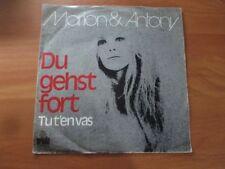 70er Jahre - Marion & Antony - Du gehst fort