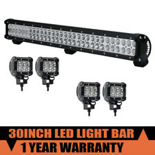 23inch 144W LED Work Light Bar Spot Flood Combo Beam For SUV ATV Truck 30