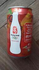 COCA COLA / COKE Beijing Olympic 2008 Edition EMPTY Can from SINGAPORE
