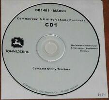 John Deere 4100 4200 4300 4400 4210 4310 Tractor Technical Service Repair Manual