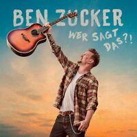 Ben Zucker - Wer Sagt das?! CD NEU OVP