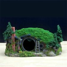 Artificial Hobbit House Aquarium Rockery Decoration Fish Tank Landscaping Castle