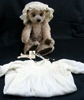 VTG MARGERY SCHULTE GERMAN CHAMPANE MOHAIR JOINTED BEAR SANDY'S BEARLY BRUINS?