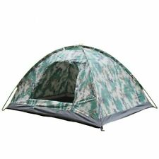 Double Camouflage Tent Outdoor Camping Mosquito Net Ultralight 1 Person Hunting