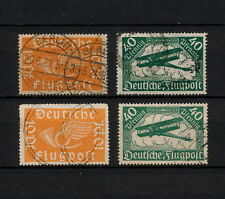 (YYAA 391) GERMANY 1919 TYPE USED Mich 111a,b - 112a,b Deutsches Reich