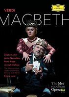Macbeth: Metropolitan Opera (Luisi) [DVD] [2015][Region 2]