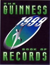 The Guinness Book of Records, 1999 by Guinness World Records Editors (1998, Hard
