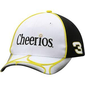 Austin Dillon # 3 RCR Racing NASCAR Cheerios Geo Flex Stretch Fit Racing Cap Hat