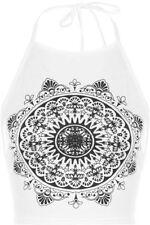 Bauchfreie Normalgröße Damenblusen, - tops & -shirts aus Polyester