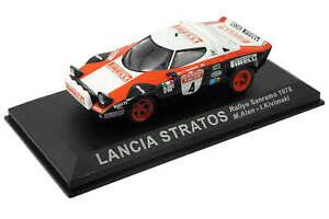 Pirelli Lancia Stratos #4 (1978) 1:43 M. Alen