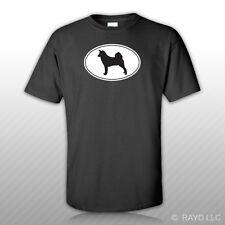 Canaan Euro Oval T-Shirt Tee Shirt Free Sticker dog canine pet