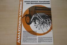 162861) Amazone Bandsaat Prospekt 07/1979